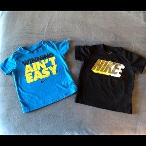 Toddler Boys 2T Nike Shirt Lot